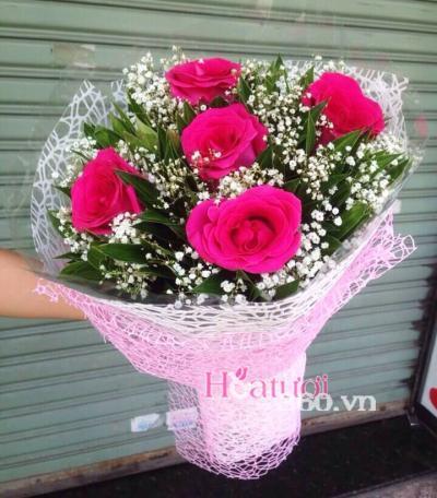 Bó hồng Ecuador 02