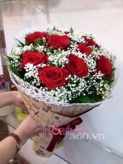 Bó hồng Ecuador 03