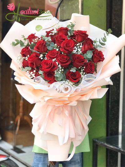 Bó hồng Ecuador - Em tuyệt vời nhất