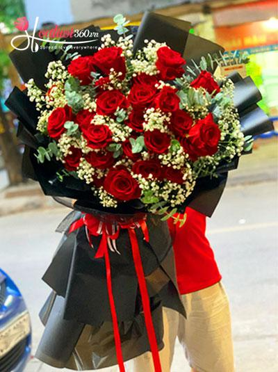 Bó hồng Ecuador - Forever love