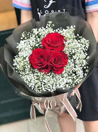 Bó hồng Ecuador - I love You
