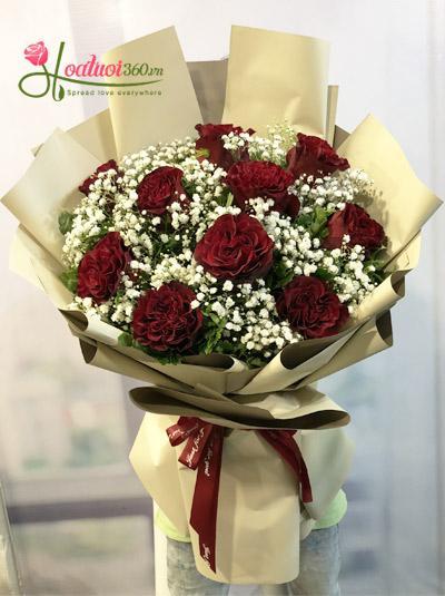 Bó hồng Ecuador - Mùa ta đã yêu