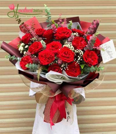 Bó hồng Ecuador - My heart