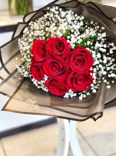 Bó hồng Ecuador- Say đắm tim nàng