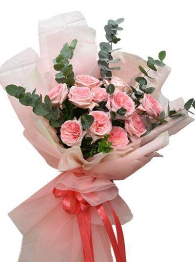 Bó hồng Ohara - Pink ohara xinh xắn