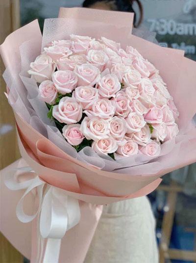 Bó hồng pastel tuyệt đẹp