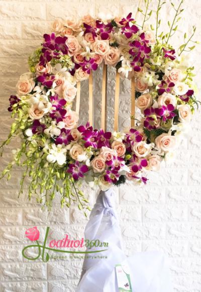 Cách ghi nội dung-banner trên hoa chia buồn thông dụng nhất