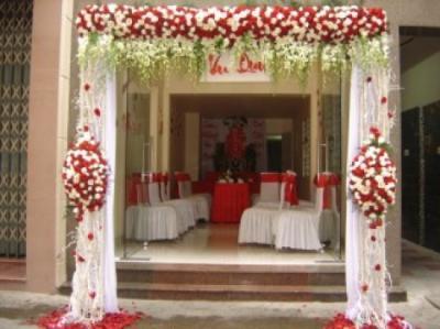 Cổng hoa cưới 02_Hoa Tươi 360