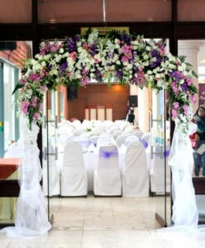 Cổng hoa cưới 11_Hoa Tươi 360