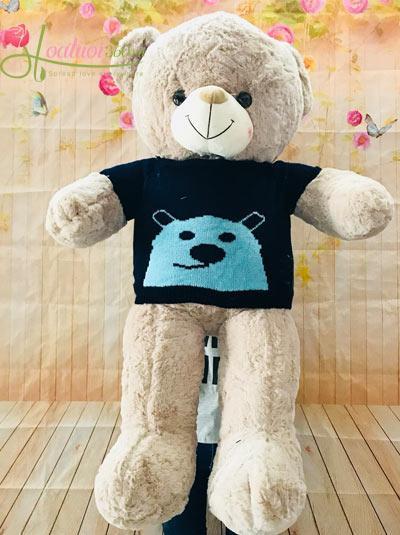 gấu bông dễ thương 1m1