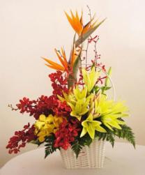 Giỏ hoa đẹp xinh