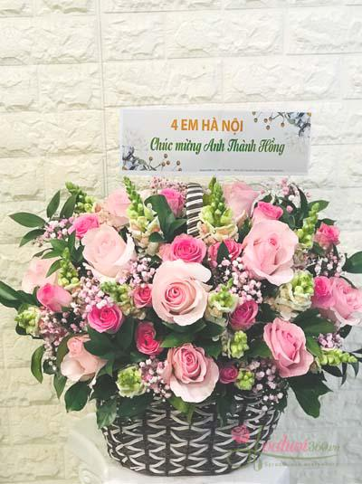 Giỏ hoa Ecuador - khu vườn bí mật