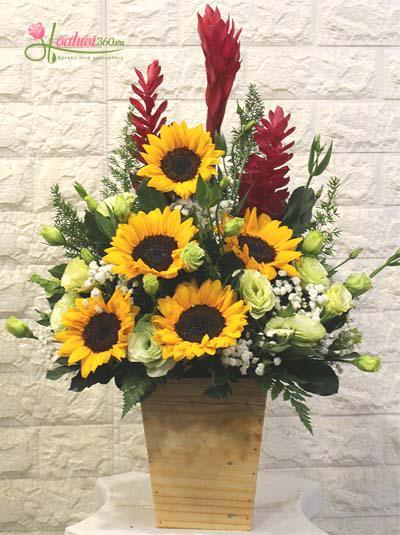 Giỏ hoa mừng ngày nhà giáo Việt Nam