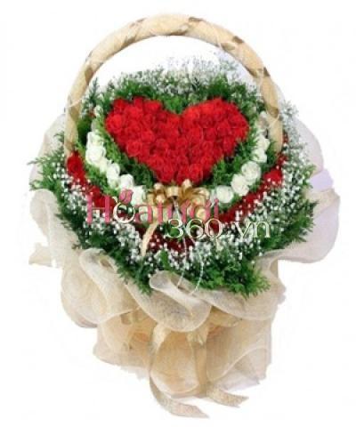 Heart Of Rose_Hoa Tươi 360