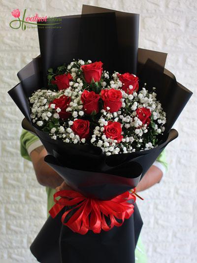 Hoa 20-11: Bó hồng tặng cô