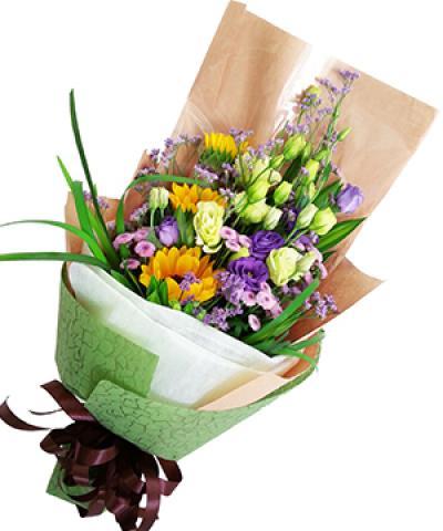 Hoa bó chúc mừng