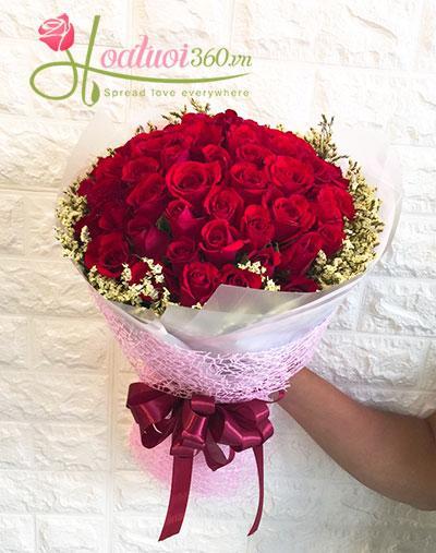 Hoa bó đẹp- Tình trong tim