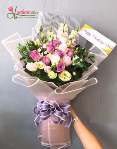 Hoa bó đẹp và sang trọng