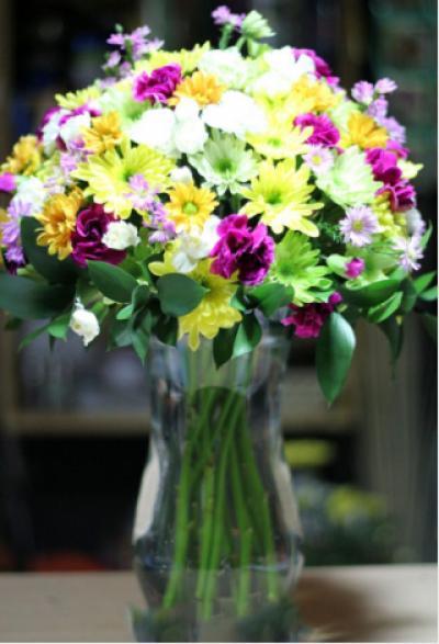 Hoa cắm bình 02_Hoa tươi 360