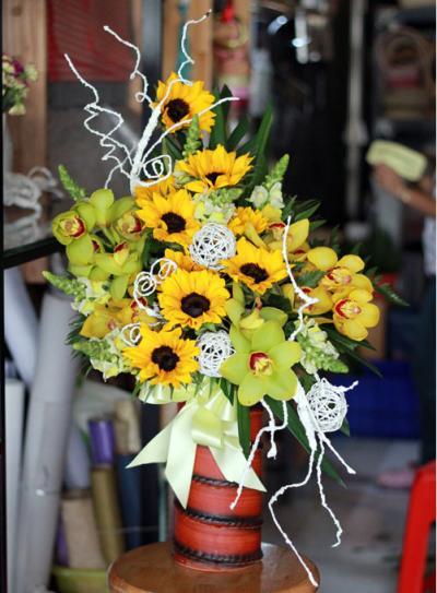 Hoa cắm bình 07_Hoa tươi 360