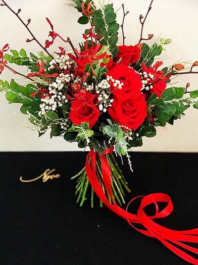 Hoa cầm tay cô dâu - Cô dâu hạnh phúc nhất