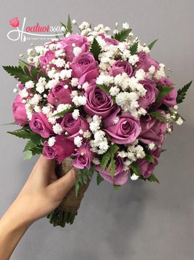 Hoa cầm tay cô dâu - Wedding bloom