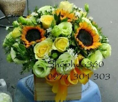 Hộp hoa xinh
