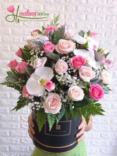 Hoa chúc mừng- Ngày hồng