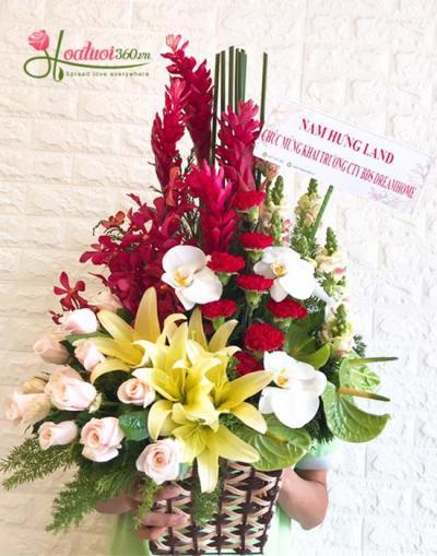 Hoa chúc mừng- Phụ nữ là để yêu thương