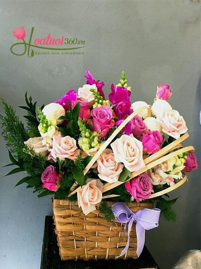 Hoa chúc mừng- Phụ nữ ngọt ngào
