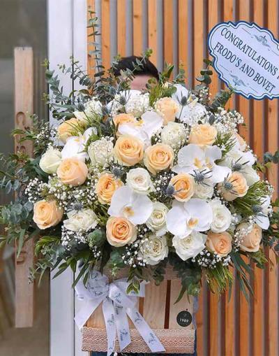 Hoa chúc mừng - success flowers