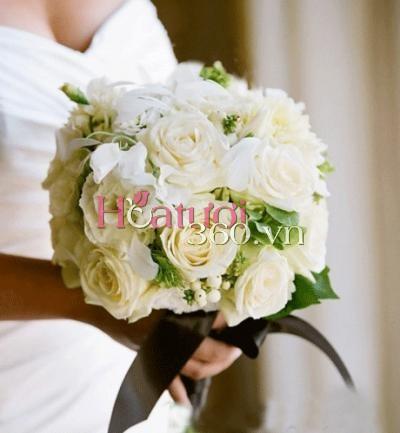 Hoa cưới 10 _ Hoa tươi 360