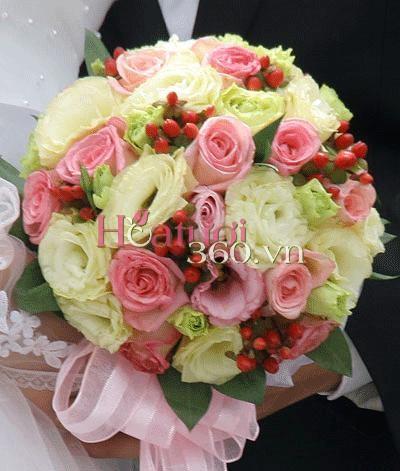 Hoa cưới 14 _ Hoa tươi 360