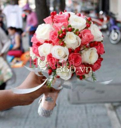 Hoa cưới 16 _ Hoa tươi 360