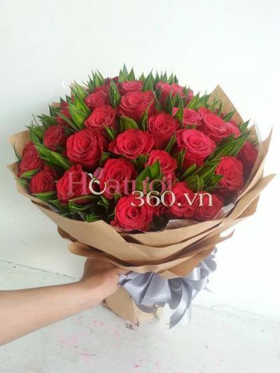 Hoa đỏ 13_Hoa tươi 360