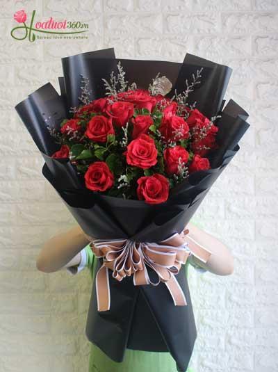 Hoa hồng đỏ  - Tình yêu rực cháy
