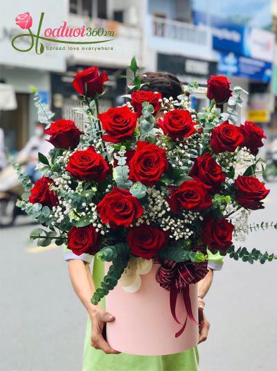 Hoa hồng Ecuador - Gửi tình yêu của tôi