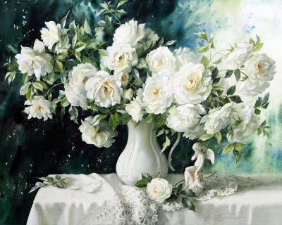 Hoa hồng trắng với vẻ đẹp tinh khôi và thuần khiết nhất