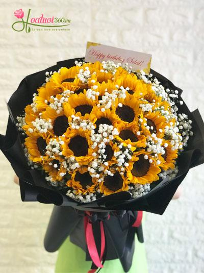Hoa hướng dương 32_Hoa tươi 360