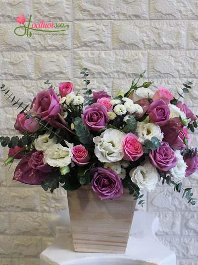 Hoa mừng kỷ niệm ngày cưới