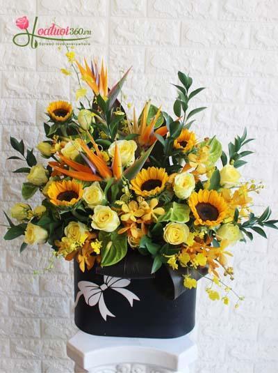 Hoa mừng thọ ông bà, nên chọn như thế nào cho phù hợp?