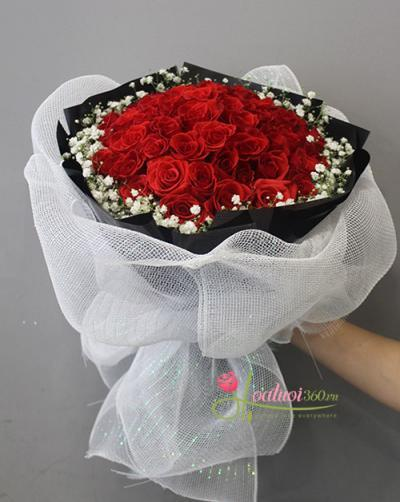Hoa sinh nhât - Bó hoa lời tỏ tình
