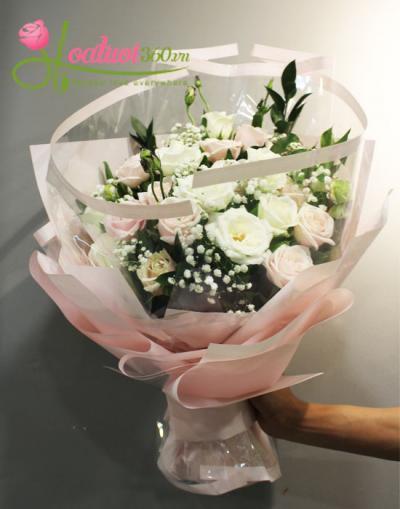 Hoa sinh nhật đẹp- Nụ cười thơ ngây