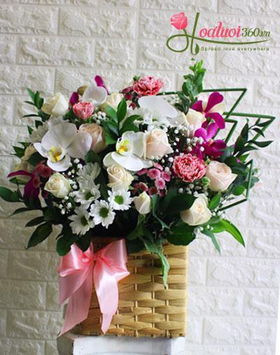 Hoa sinh nhật - Hoa chúc mừng sinh nhật  Hạnh phúc bắt đầu