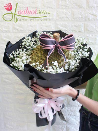 Hoa sinh nhật - Hoa trái cây hương vị sầu riệng đặc biệt