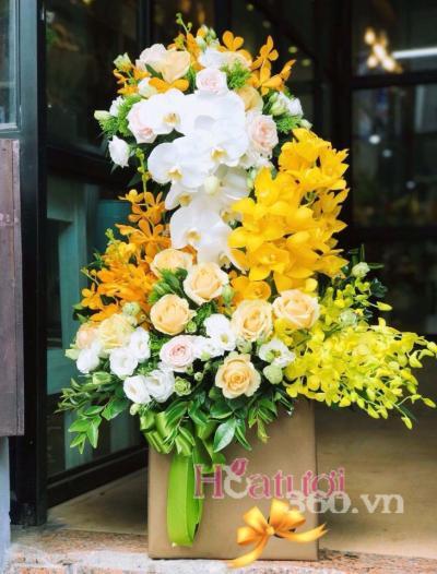 Hoa tặng sếp nam