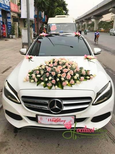 Hoa xe cưới - Ngày chung đôi