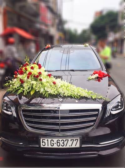 Hoa xe cưới - Sánh đôi