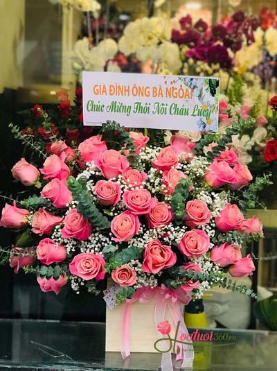 Hộp hoa hồng Ecuador - Sang trọng và tinh tế
