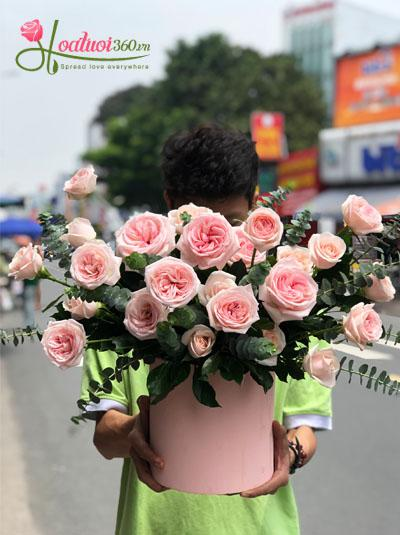 Hộp hoa hồng Ohara - Điều tôi yêu